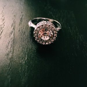 Jewelry - 💍💎 crystal silver ring 💎💍